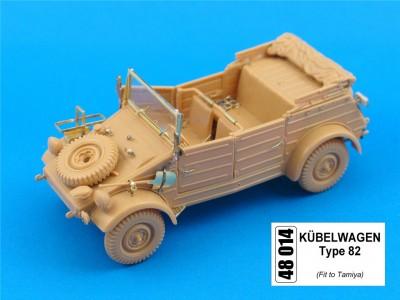 1:48 - Kubelwagen from Tamiya