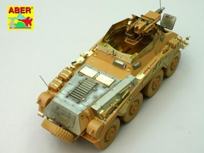 1:35 - Sd.Kfz.234/3 Heavy Armoured Car from Italeri - 13