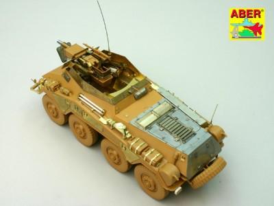 1:35 - Sd.Kfz.234/3 Heavy Armoured Car from Italeri - 16