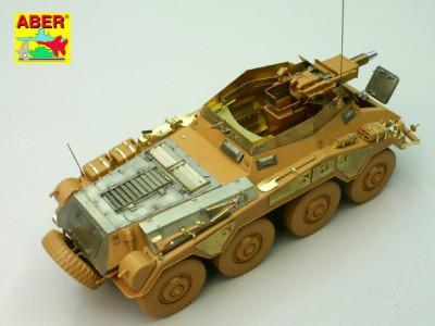 1:35 - Sd.Kfz.234/3 Heavy Armoured Car from Italeri - 12