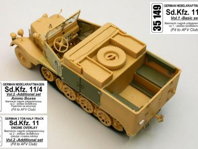 1:35 - Sd.Kfz. 11/4 Nebelkraftwagen from AFV Club