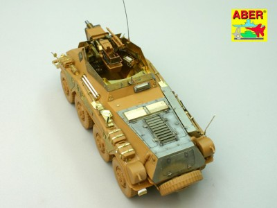 1:35 - Sd.Kfz.234/3 Heavy Armoured Car from Italeri - 15