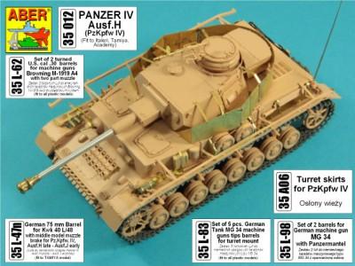 1:35 - Pz.Kpfw.IV, Ausf. H -model from RFM - 1