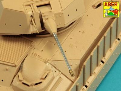 25mm M242 Bushmaste rribbed chain gun barrel  7,62mm M240 machine gun barrel used on late M2A3 Bradley or LAV-25 - 9