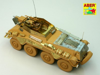 1:35 - Sd.Kfz.234/3 Heavy Armoured Car from Italeri - 17