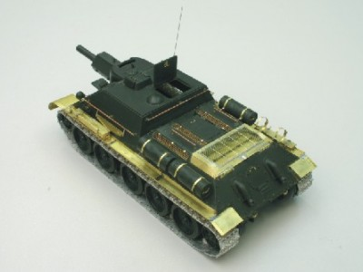 1:35 - Soviet tank destroyer SU122 - 4