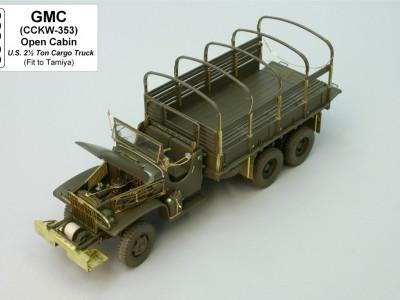 1:35 - Amerykańska ciężarówka GMC 353