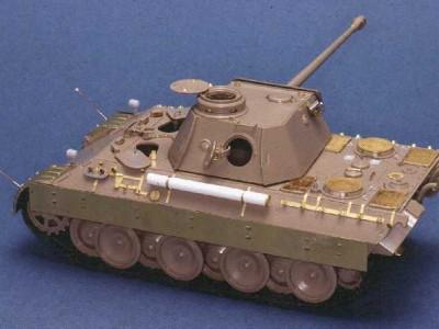 1:35 - Panther D - Italeri model - 3