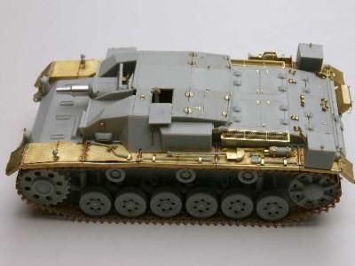 1:35 - Sturmgeschutz III, Ausf.A from Dragon - 5