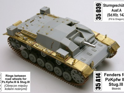 1:35 - Sturmgeschutz III, Ausf.A from Dragon