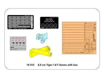 8,8cm Tiger I A/T Ammo with box - 4