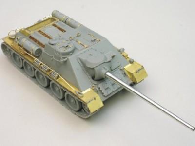 1:35 - Soviet tank destroyer SU100 -from Dragon model - 2