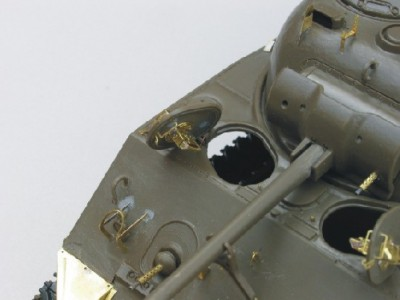1:35 - Sherman M4 A1 from Tamiya - 16