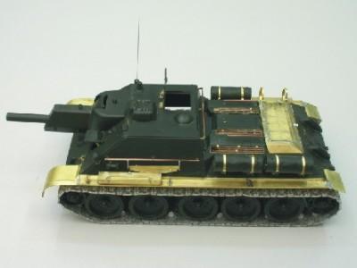 1:35 - Soviet tank destroyer SU122 - 3