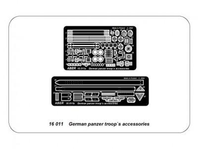 German panzer troop`s accessories - 4