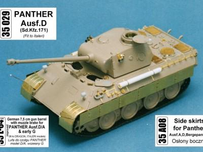 1:35 - Panther D - Italeri model