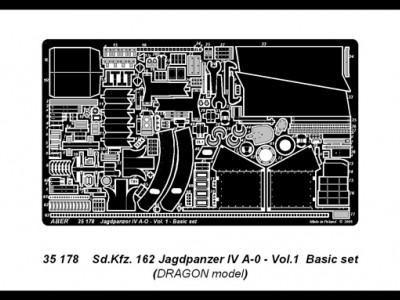 German tank destroyer Sd.Kfz.162 Jagdpanzer IV A-0 - vol.1 - basic set