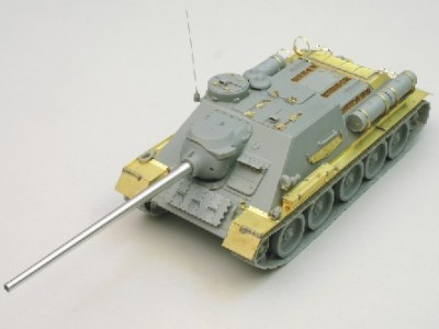 1:35 - Soviet tank destroyer SU100 -from Dragon model - 4