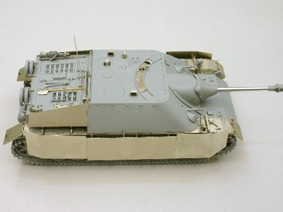 1:35 - Jagdpanzer IV from Dragon - 11