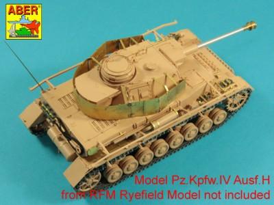 1:35 - Pz.Kpfw.IV, Ausf. H -model from RFM