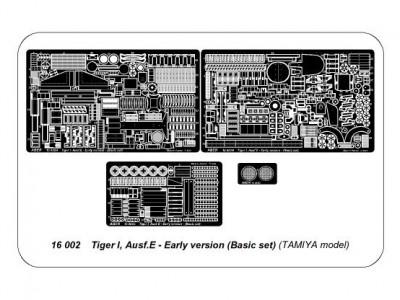 Tiger I, Ausf.E - Early version (Basic set) - 4