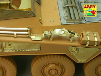 1:35 - Sd.Kfz.234/3 Heavy Armoured Car from Italeri - 3