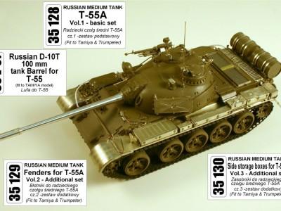1:35 - T-55 from Tamiya