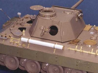 1:35 - Panther D - Italeri model - 4