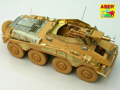 1:35 - Sd.Kfz.234/3 Heavy Armoured Car from Italeri - 10