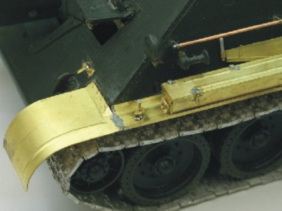 1:35 - Soviet tank destroyer SU122 - 8