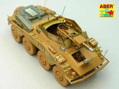 1:35 - Sd.Kfz.234/3 Heavy Armoured Car from Italeri - 9