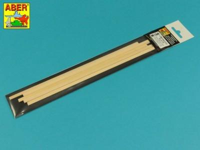 Limewood slats 1,5 x 6 x 245mm x 7 pcs. - 3