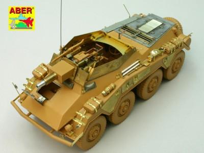 1:35 - Sd.Kfz.234/3 Heavy Armoured Car from Italeri - 7
