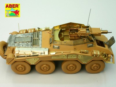 1:35 - Sd.Kfz.234/3 Heavy Armoured Car from Italeri - 1