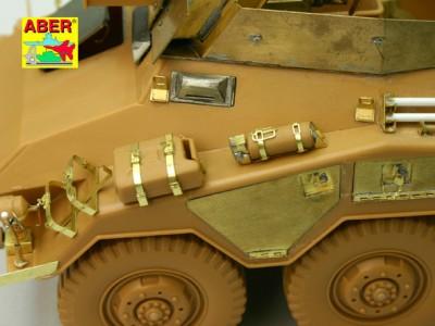1:35 - Sd.Kfz.234/3 Heavy Armoured Car from Italeri - 4