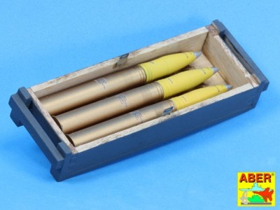 8,8 cm Tiger I high-explosive Ammo with box - 7