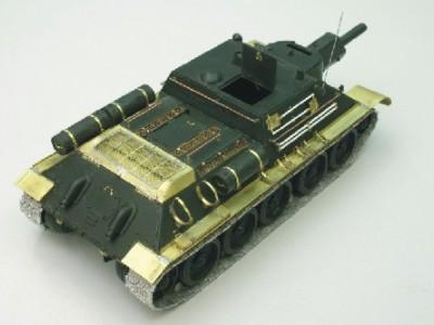 1:35 - Soviet tank destroyer SU122 - 5