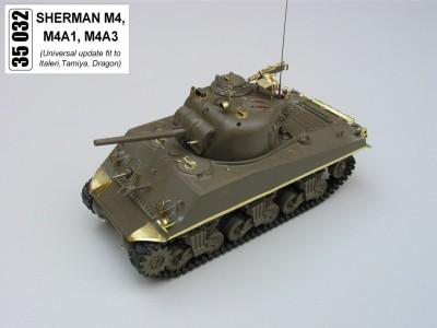 1:35 - Sherman M4 A1 from Tamiya