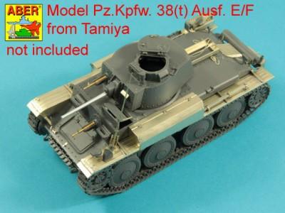 1:35 - Pz. Kpfw 38(t) from Tamiya - 4