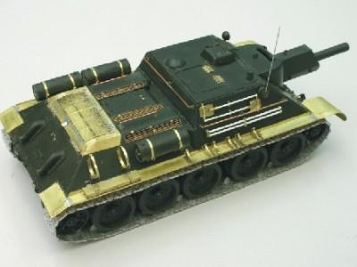 1:35 - Soviet tank destroyer SU122 - 6