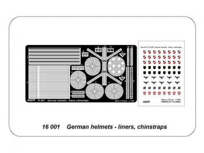 German helmets - liners, chinstrap - 4