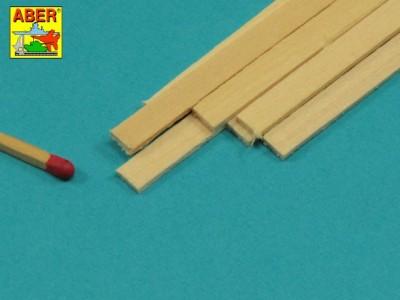 Limewood slats 1,5 x 6 x 245mm x 7 pcs. - 2