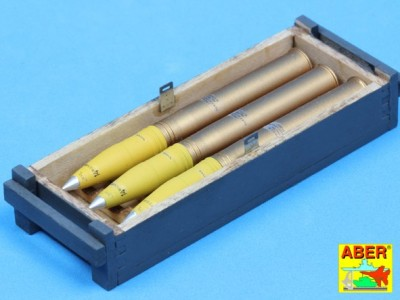 8,8 cm Tiger I high-explosive Ammo with box - 5