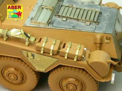 1:35 - Sd.Kfz.234/3 Heavy Armoured Car from Italeri - 2