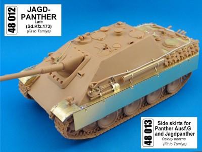 1:48 - Jagdpanther from Tamiya