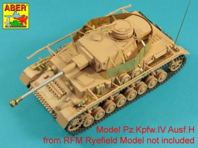 1:35 - Pz.Kpfw.IV, Ausf. H -model from RFM - 5