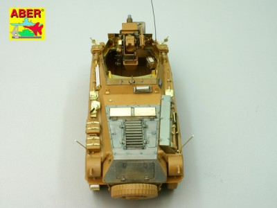 1:35 - Sd.Kfz.234/3 Heavy Armoured Car from Italeri - 14