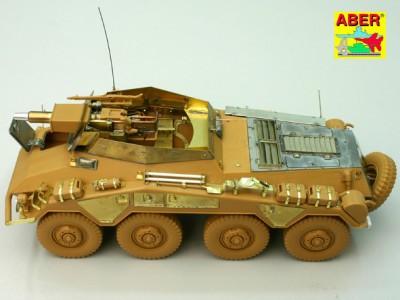 1:35 - Sd.Kfz.234/3 Heavy Armoured Car from Italeri - 18