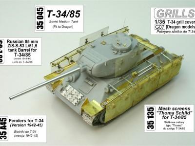 1:35 - Radziecki czołg średni T-34/85