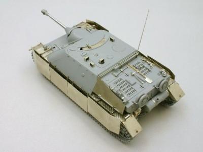 1:35 - Jagdpanzer IV from Dragon - 5